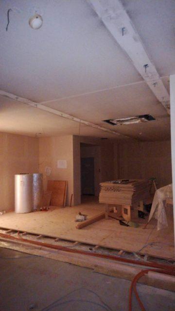 R建設様の事務所改修工事